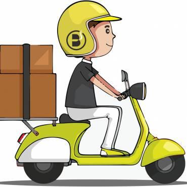 Maior cobertura de entregas via Motoboy